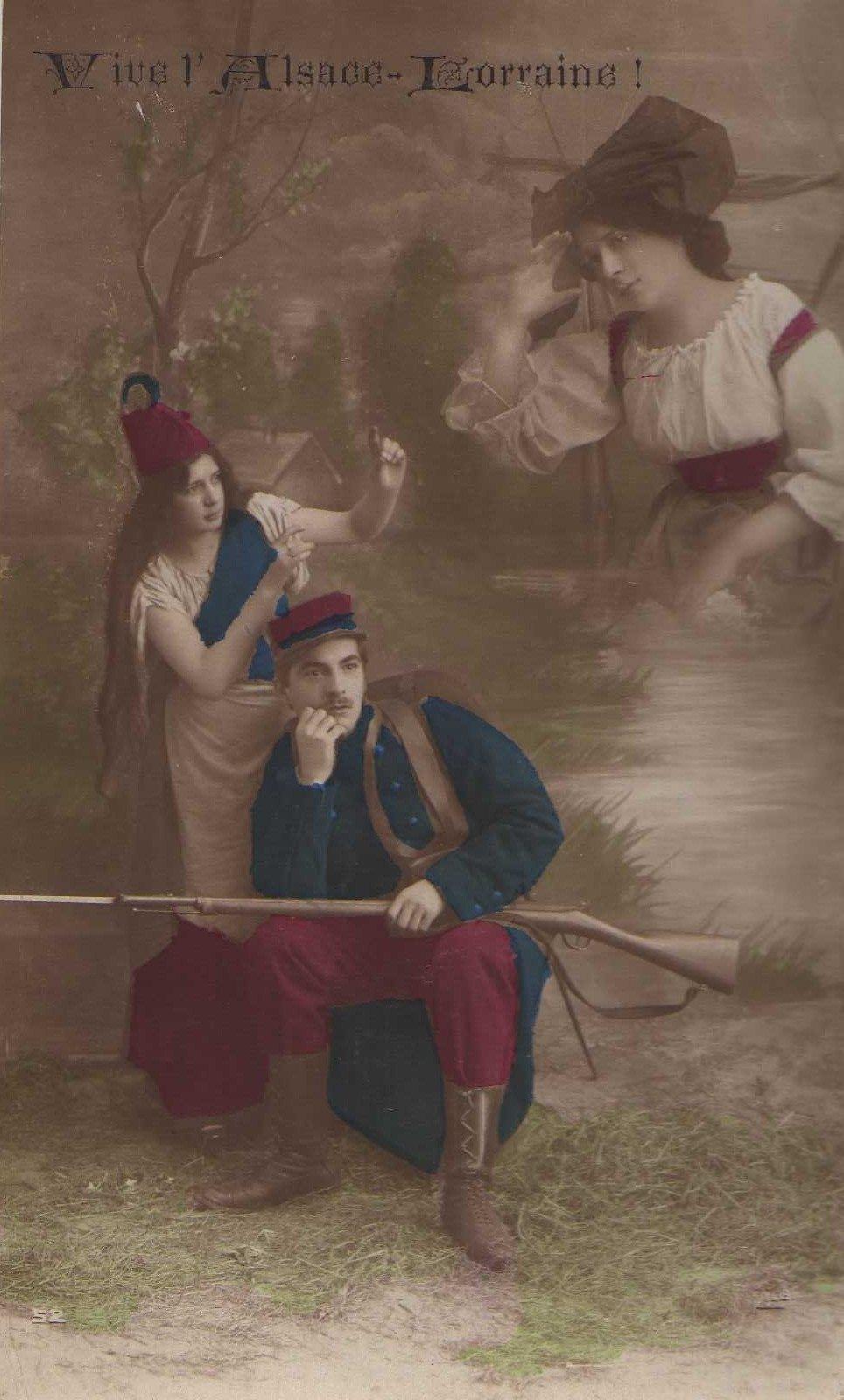Exposition 2014-2018 : L'ode à Metz ou l'espoir du retour à la France de l'Alsace-Lorraine